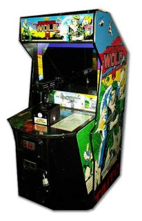 Operation Wolf Arcade Cabinet Side