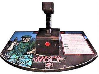 Operation Wolf Arcade Control Deck