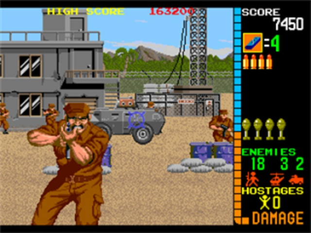 Operation Wolf Arcade - Enemy Fire