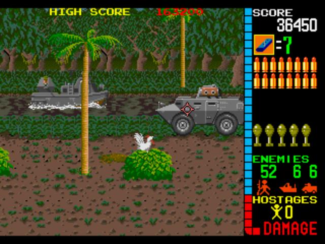 Operation Wolf Arcade - Jungle