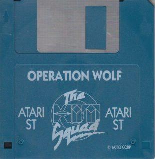 Operation Wolf Atari ST Disk