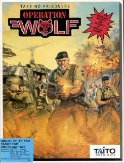 Operation Wolf DOS Box