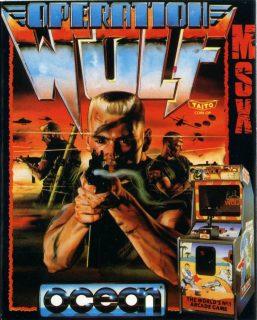 Operation Wolf MSX Box