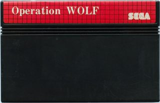 Operation Wolf SMS Cartridge