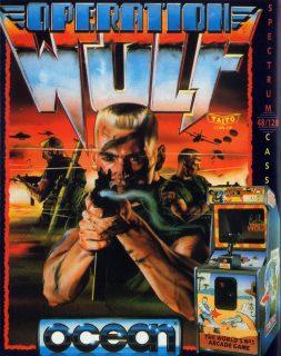 Operation Wolf ZX Spectrum Box