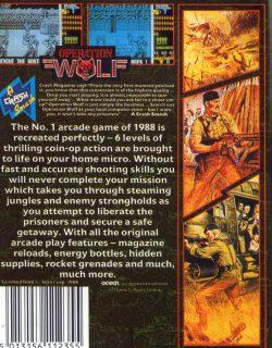 Operation Wolf ZX Spectrum Box Back