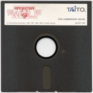 Operation Wolf c64 Disk
