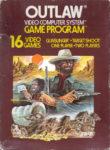 Outlaw Atari 2600 Box
