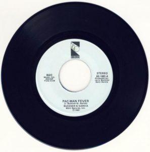 Pac-Man Fever BGO Records Single 1981