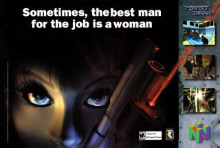 Perfect Dark Advertisement