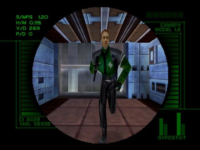 Perfect Dark - Camera Feed