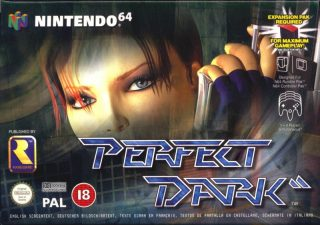 Perfect Dark European N64 Box