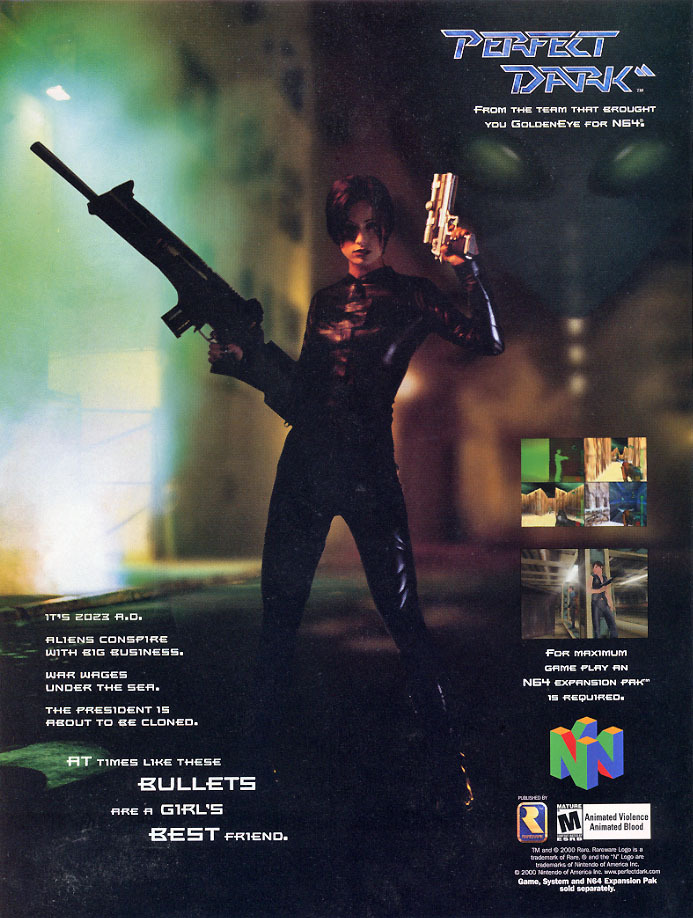 Perfect Dark Magazine Ad