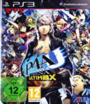 Persona 4 Arena Ultimax Eurpean PS3 Box