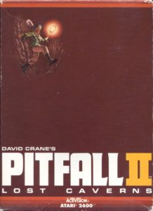 Pitfall II - Lost Caverns Box