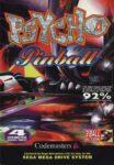 Psycho Pinball Mega Drive Box
