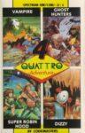 Quattro Adventure ZX Spectrum Box