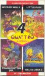 Quattro Cartoon C64 Box