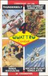 Quattro Combat C64 Box