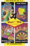 Quattro Fantastic ZX Spectrum Box