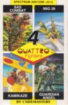 Quattro Fighters ZX Spectrum Box
