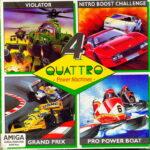 Quattro Power Machines Amiga Box