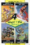 Quattro Racers ZX Spectrum Box