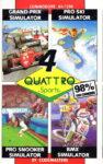 Quattro Sports C64 Box