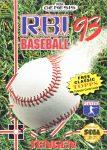 R.B.I. Baseball 93 Genesis Box