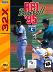 RBI Baseball 95 Sega 32X Box
