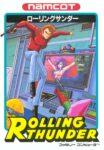 Rolling Thunder Famicom Box
