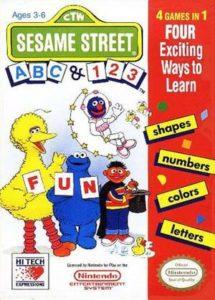 Sesame Street ABC 123 Box