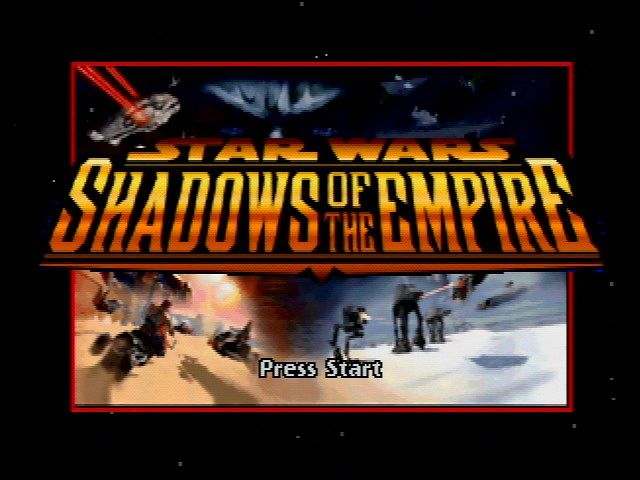 Shadows of the Empire - Title Screen