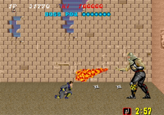 Shinobi - Boss Battle