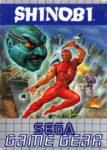 Shinobi Game Gear European Box