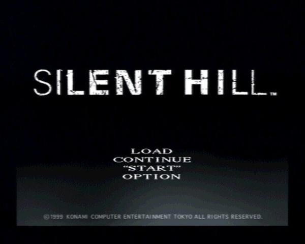 Silent Hill - Title Screen