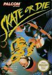 Skate or Die European NES Box