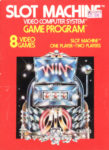 Slot Machine Atari 2600 Box