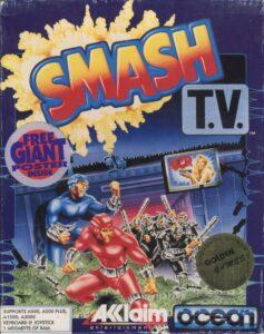 Smash TV Amiga Box