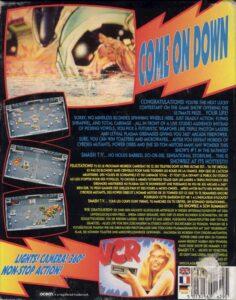 Smash TV Amiga Box Back