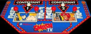 Smash TV Arcade Controls