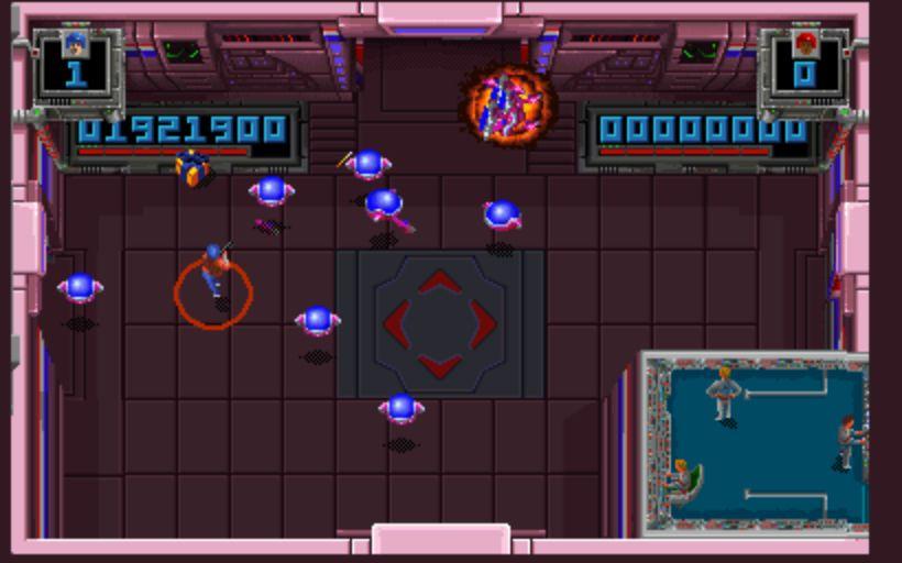Smash TV - Flying Robots