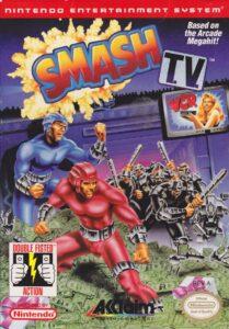 Smash TV NES Box