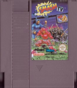 Smash TV NES Cartridge