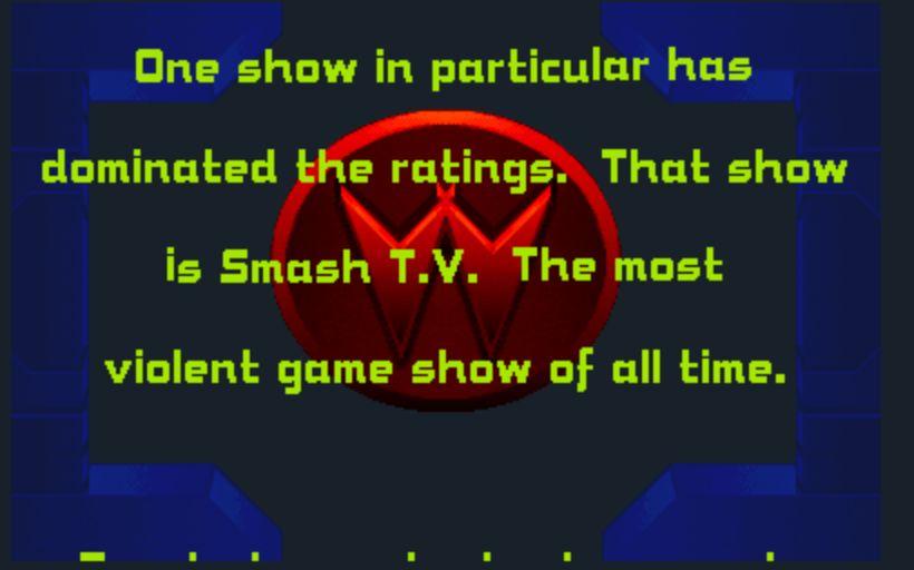 Smash TV - Story