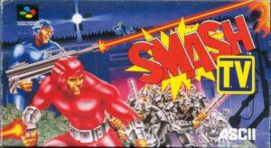Smash TV Super Famicom Box