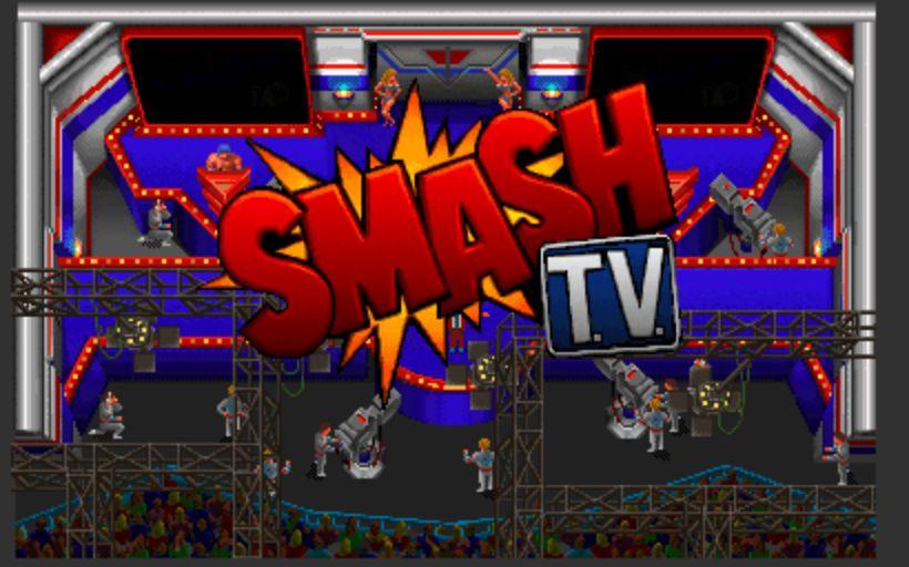 Smash TV - Title Screen