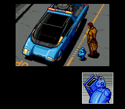 Snatcher Gillian and Metal Gear by vehicle