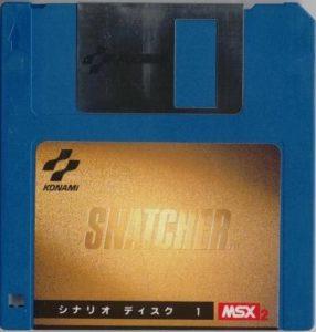 Snatcher MSX2 3.5 Floppy Disk