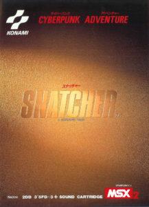 Snatcher MSX2 Box
